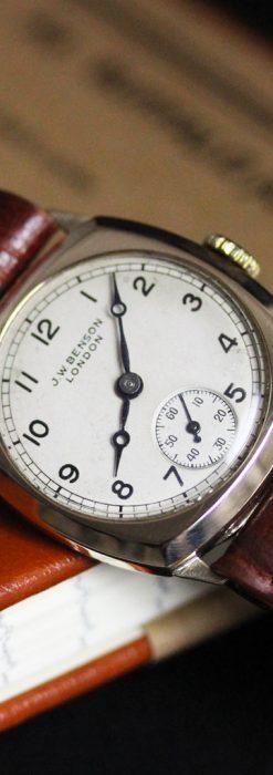 ベンソンのアンティーク腕時計-W1432-3