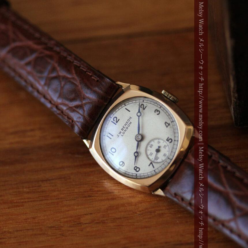 ベンソンのアンティーク腕時計-W1432-4