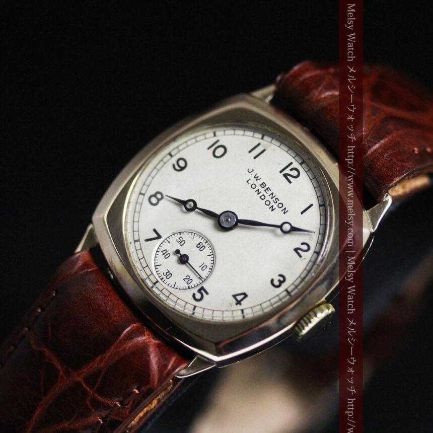 ベンソンのアンティーク腕時計-W1432-9