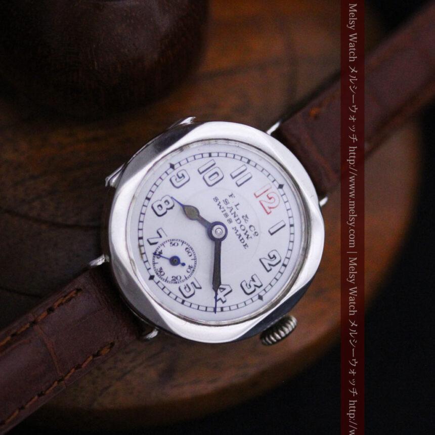 スイス製のアンティーク腕時計-W1433-10