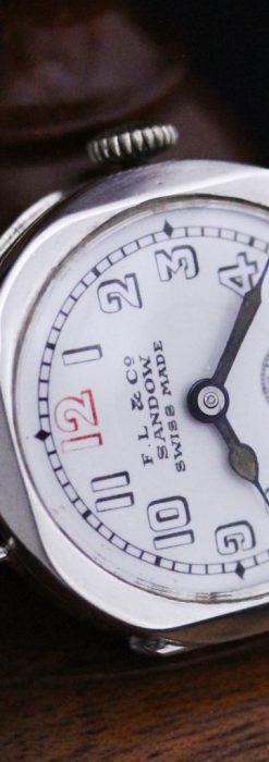 スイス製のアンティーク腕時計-W1433-11