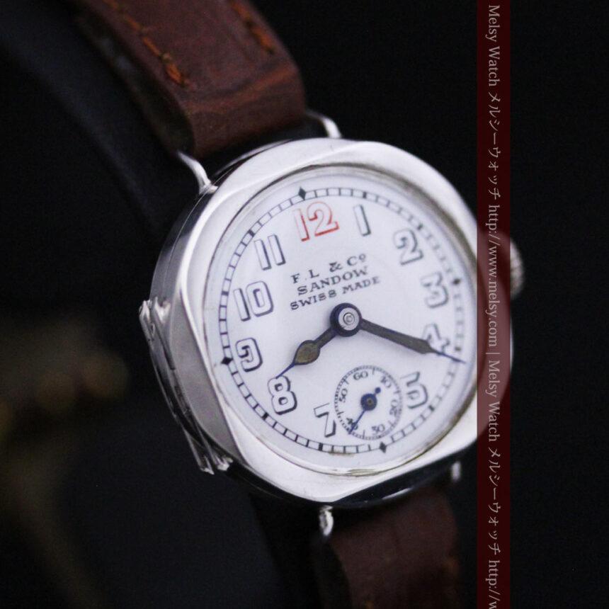 スイス製のアンティーク腕時計-W1433-12