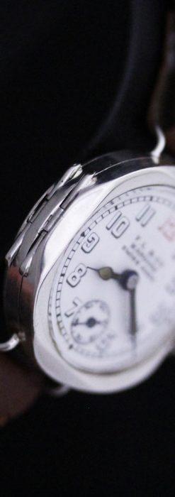 スイス製のアンティーク腕時計-W1433-13