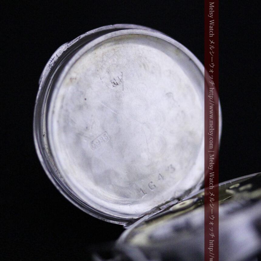 スイス製のアンティーク腕時計-W1433-18