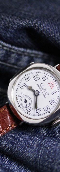 スイス製のアンティーク腕時計-W1433-3