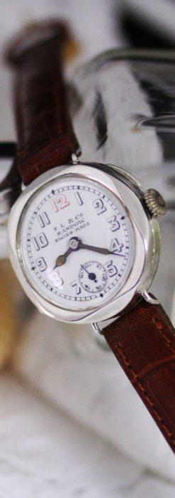 スイス製のアンティーク腕時計-W1433-4