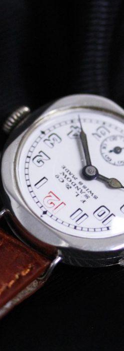 スイス製のアンティーク腕時計-W1433-6