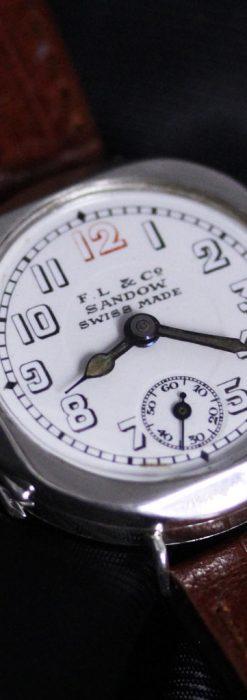 スイス製のアンティーク腕時計-W1433-7