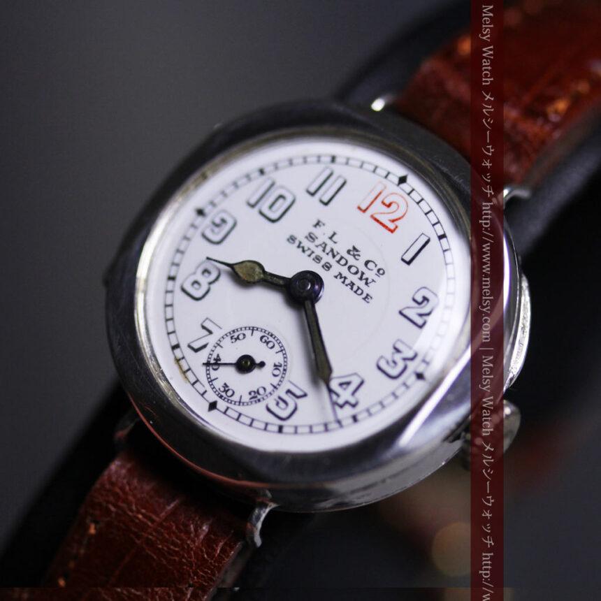 スイス製のアンティーク腕時計-W1433-8
