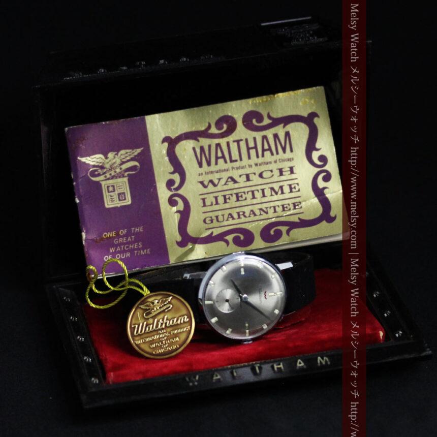 ウォルサムのレトロ腕時計-W1436-1