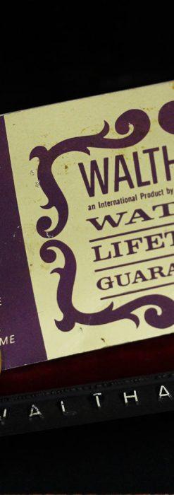 ウォルサムのレトロ腕時計-W1436-12
