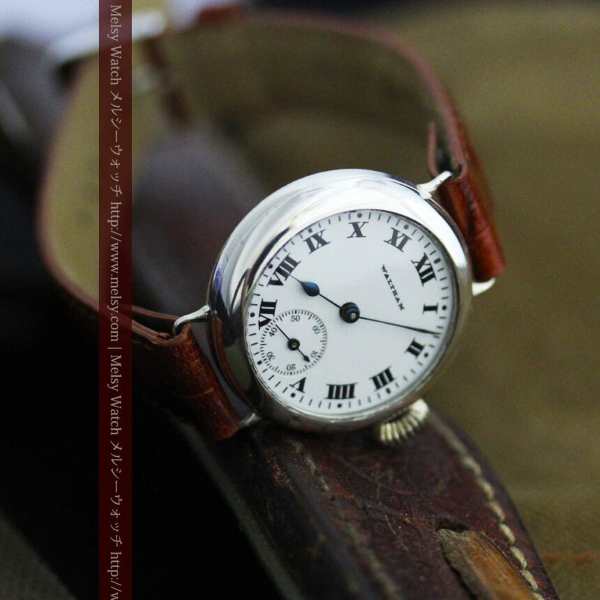 ウォルサムのアンティーク腕時計-W1438-9