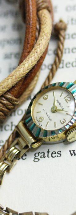 エルメスのアンティーク腕時計-W1439-2