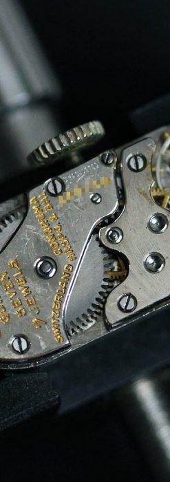 細長いグリュエンの女性用アンティーク腕時計-W1442-13