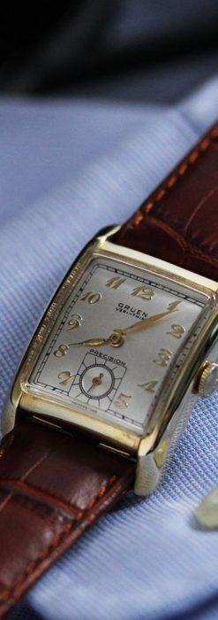 グリュエンのアンティーク腕時計-W1443-1