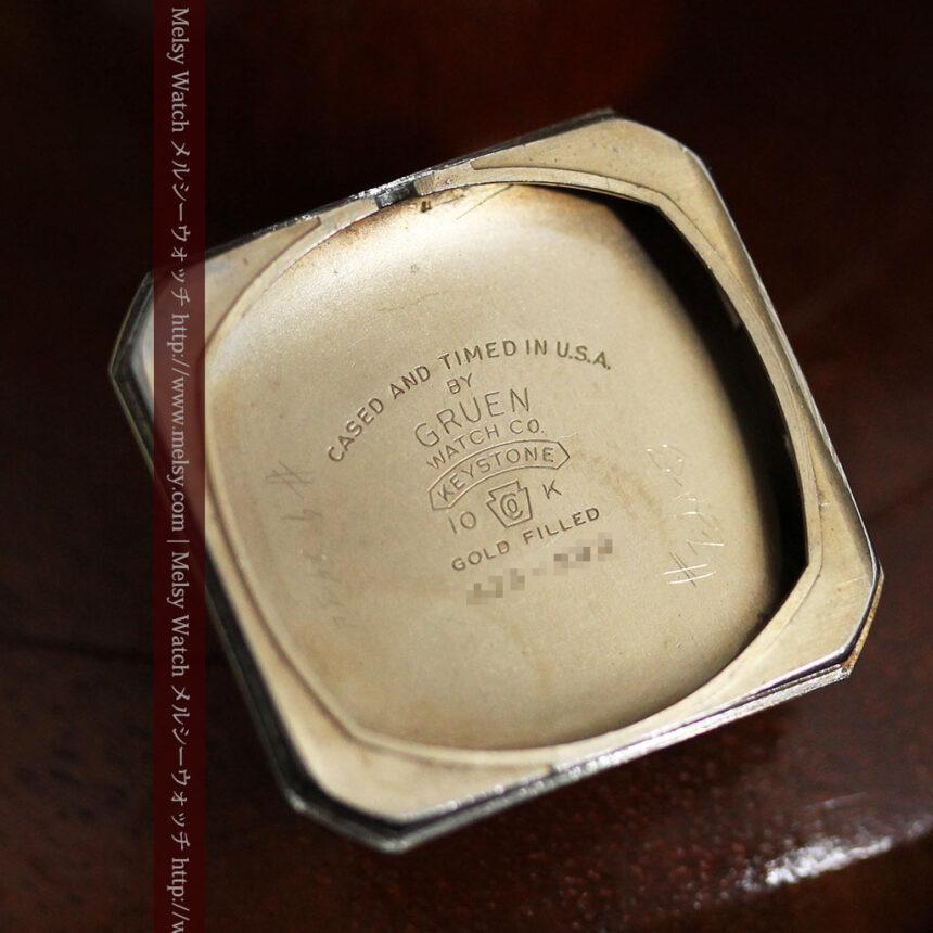 グリュエンのアンティーク腕時計-W1443-13
