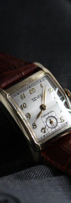 グリュエンのアンティーク腕時計-W1443-2