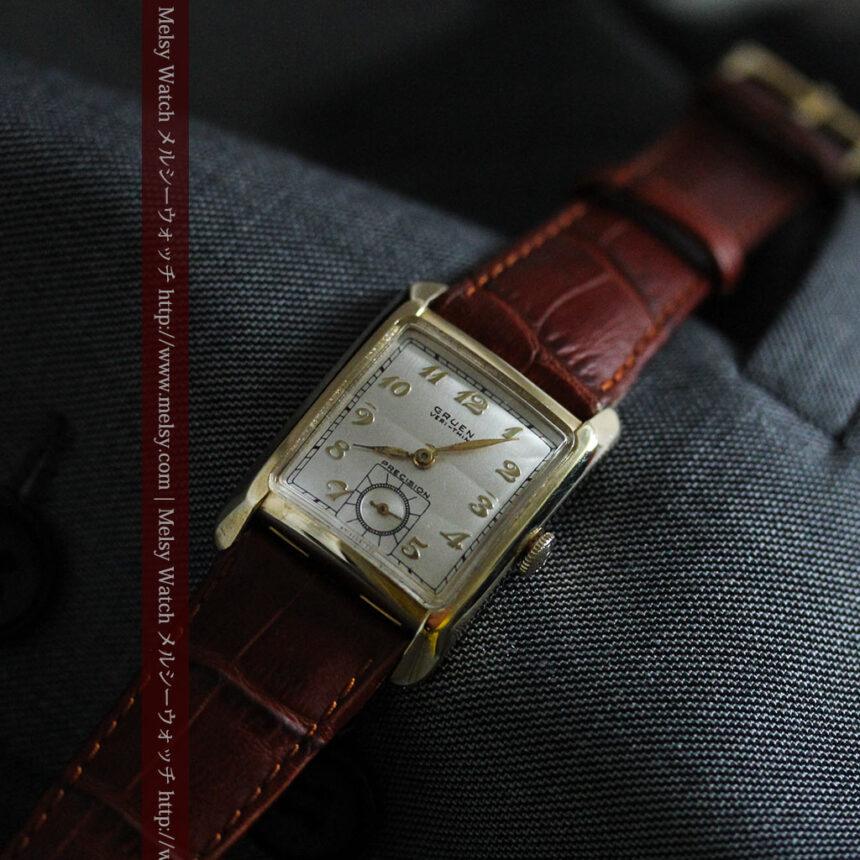 グリュエンのアンティーク腕時計-W1443-3