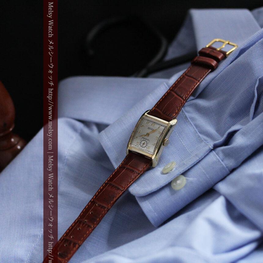 グリュエンのアンティーク腕時計-W1443-4