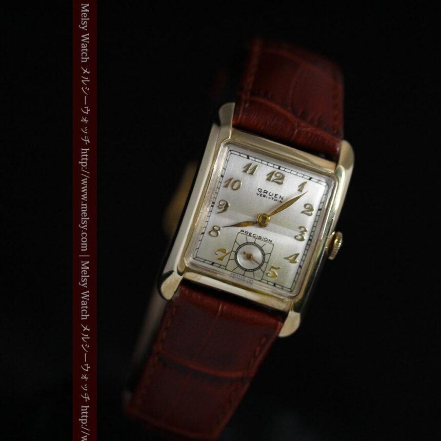 グリュエンのアンティーク腕時計-W1443-5