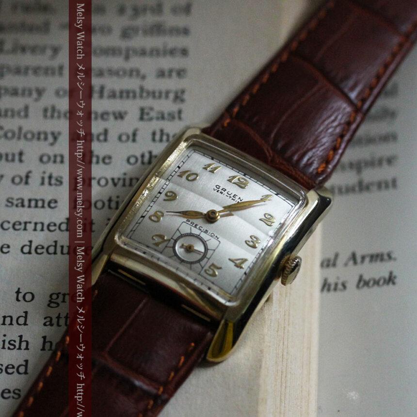 グリュエンのアンティーク腕時計-W1443-7