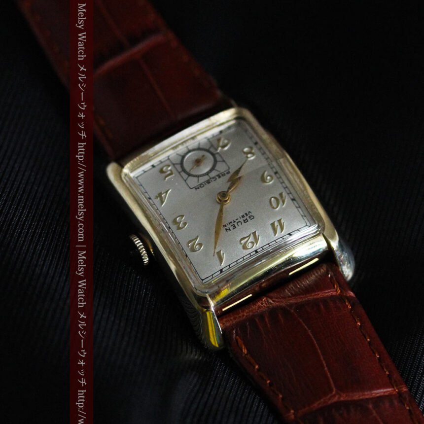 グリュエンのアンティーク腕時計-W1443-8