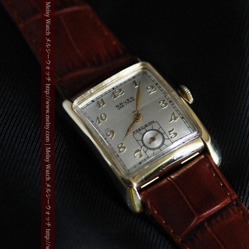 グリュエンのアンティーク腕時計-W1443-9
