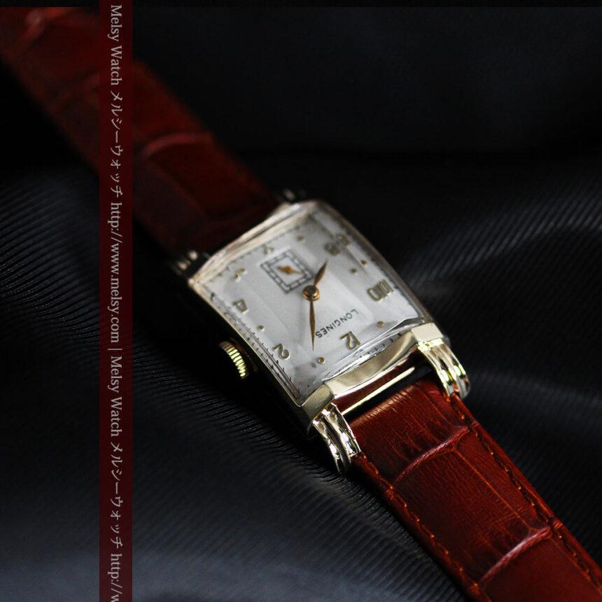 ロンジンの1949年製のアンティーク腕時計-W1444-10
