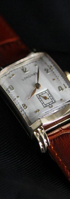 ロンジンの1949年製のアンティーク腕時計-W1444-11