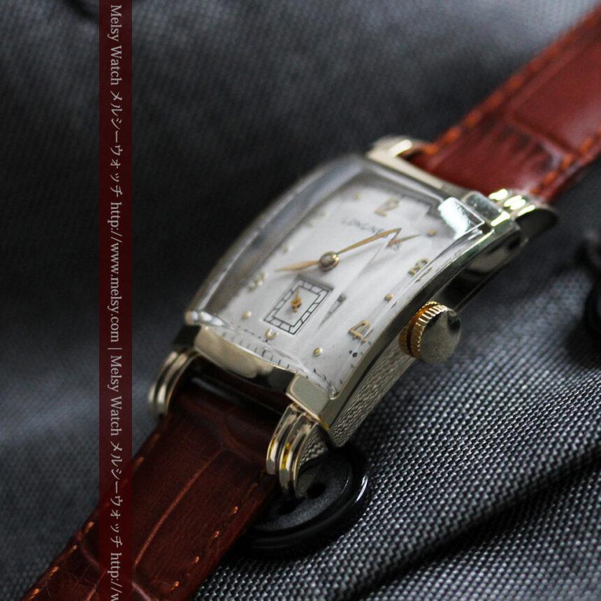 ロンジンの1949年製のアンティーク腕時計-W1444-12