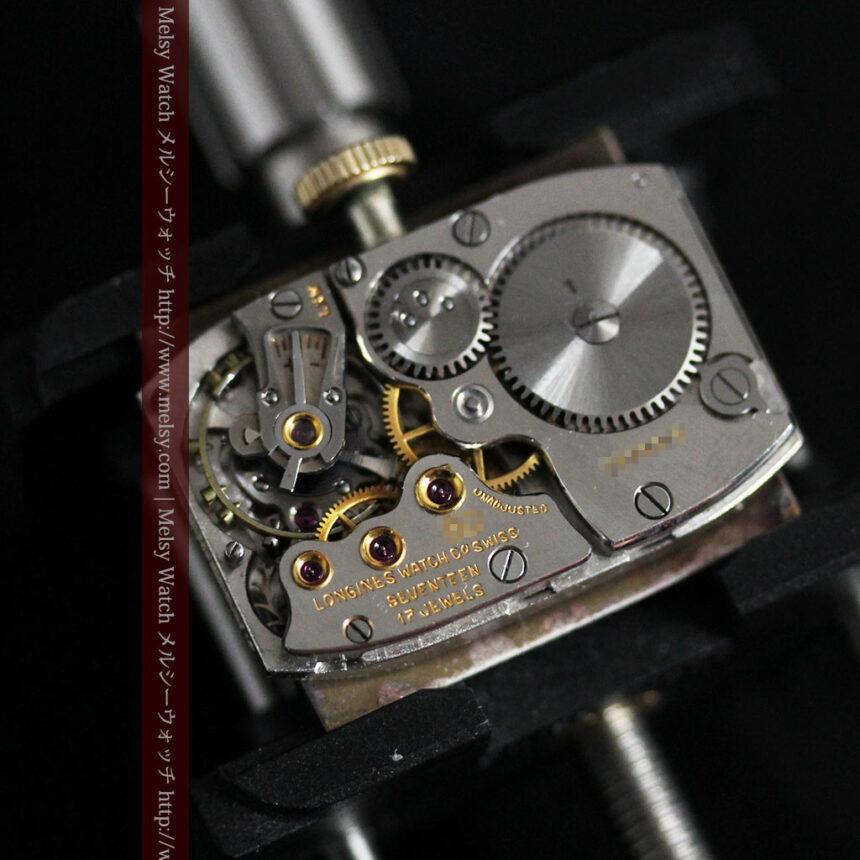 ロンジンの1949年製のアンティーク腕時計-W1444-16