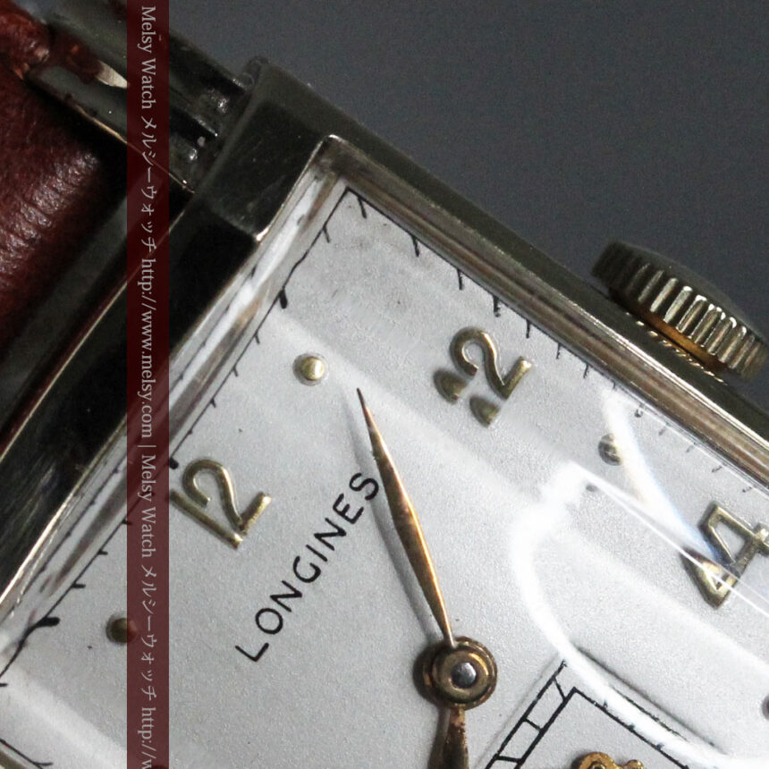 ロンジンの1949年製のアンティーク腕時計-W1444-17