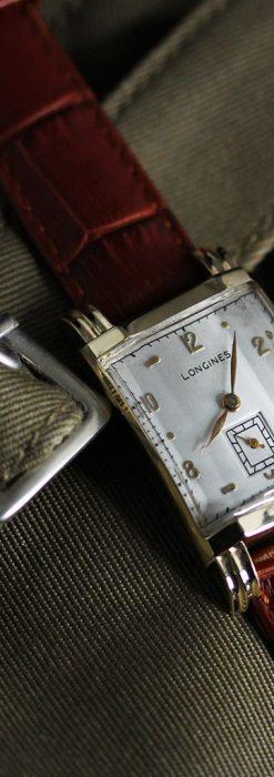 ロンジンの1949年製のアンティーク腕時計-W1444-3