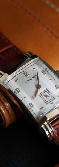 ロンジンの1949年製のアンティーク腕時計-W1444-5