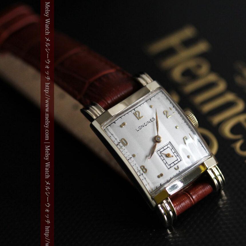 ロンジンの1949年製のアンティーク腕時計-W1444-6