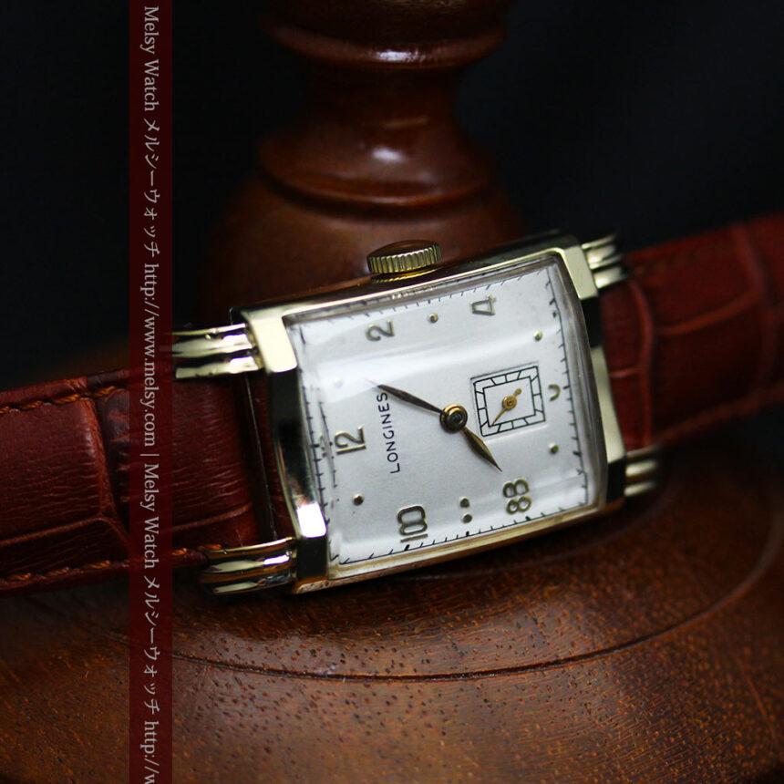 ロンジンの1949年製のアンティーク腕時計-W1444-18