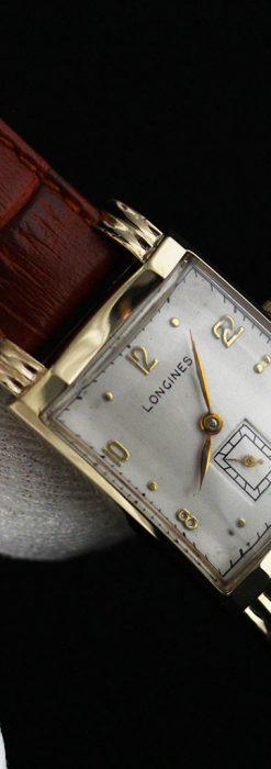 ロンジンの1949年製のアンティーク腕時計-W1444-9