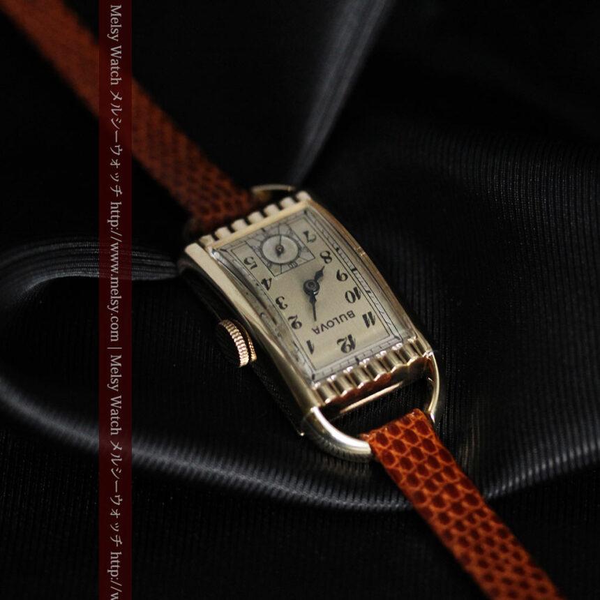ブローバ女性用の1939年製アンティーク腕時計-W1445-12