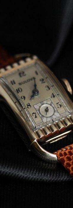 ブローバ女性用の1939年製アンティーク腕時計-W1445-13