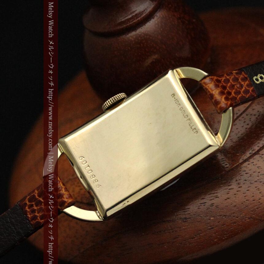 ブローバ女性用の1939年製アンティーク腕時計-W1445-14