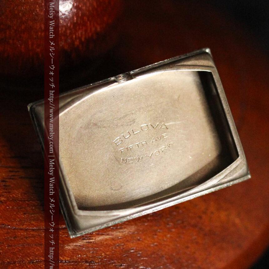 ブローバ女性用の1939年製アンティーク腕時計-W1445-15