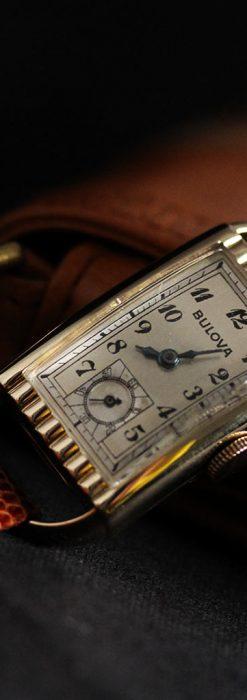ブローバ女性用の1939年製アンティーク腕時計-W1445-4