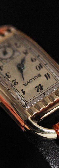 ブローバ女性用の1939年製アンティーク腕時計-W1445-7