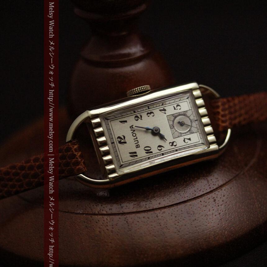 ブローバ女性用の1939年製アンティーク腕時計-W1445-9