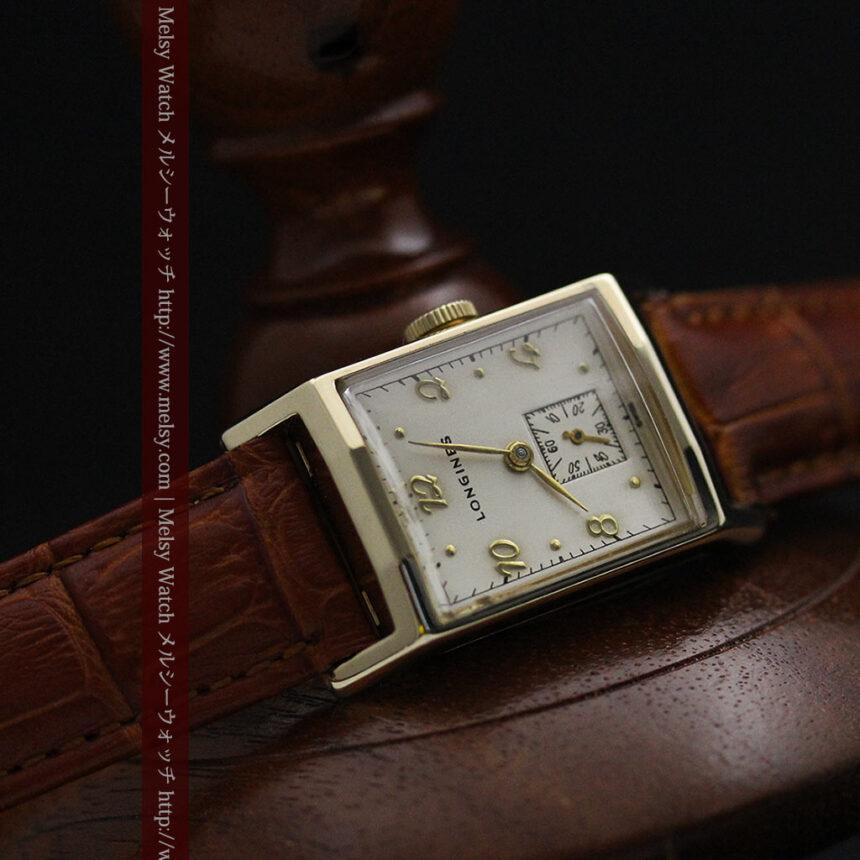 ロンジンの1950年製のアンティーク腕時計-W1446-11
