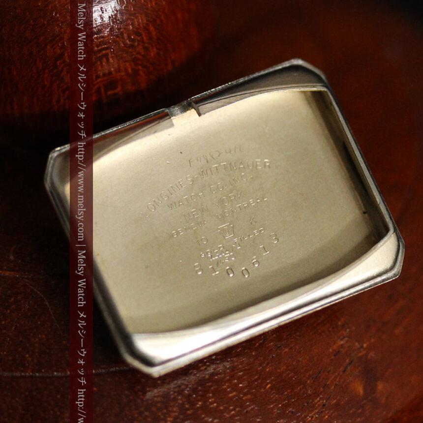 ロンジンの1950年製のアンティーク腕時計-W1446-15