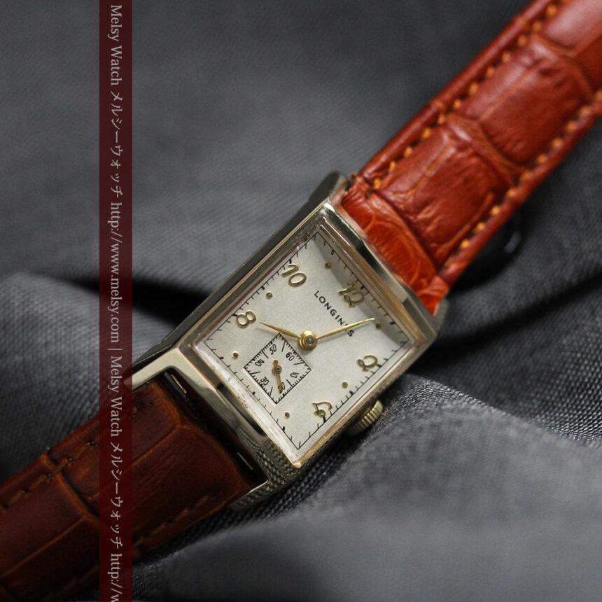 ロンジンの1950年製のアンティーク腕時計-W1446-7
