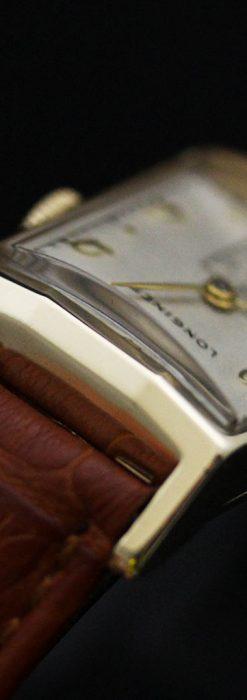 ロンジン1950年製の長方形のアンティーク腕時計-W1446-9