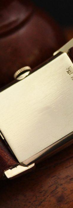 グリュエンの1945年頃のダイヤモンド装飾が綺麗なアンティーク腕時計-W1448-16