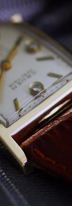 グリュエンの1945年頃のダイヤモンド装飾が綺麗なアンティーク腕時計-W1448-3